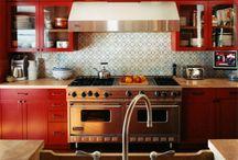 Norman Red Kitchen