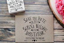 Invitation Inspiration / My favourite invitation designs, cuts and prints.