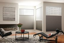 cellular / Cellular Shades : Also known as Honeycomb/ Accordion style. Modern & contemporary style. Most energy efficient window coverings available today. Available with features like cordless, room darkening, top down-bottoms up, motorized etc.