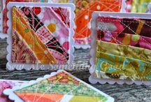 Fabric Scrap Inspiration and Ideas