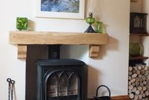 dining room fire surround