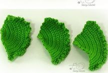 crochet veggies