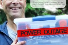 Outage Preparation / What to do when the power goes out.