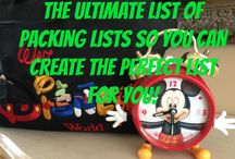 Operation Disney / Helpful Tips for making the most of our upcoming Disney trips.
