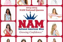 2014-2015 NAM National Royalty! / Take a look at the NAM National State Titleholders that are representing the nation!