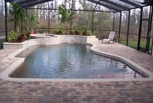 Brick pavers in Pools and Ponds