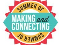 #MakeSummer  / DIY + Making + Writing. Use this summer to connect with other educators and learn new skills to bring to your classroom next fall.
