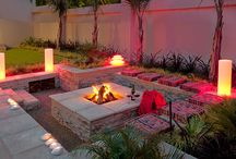 Bomas and firepits