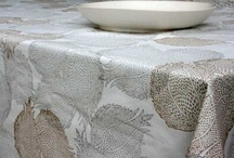 Table / Linen, china, glass