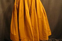 Yellow skirts