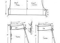 Moldes Diversos / Moldes para costuras em geral