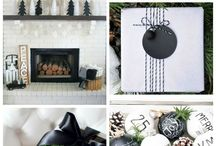 Christmas ideas cards and decoration