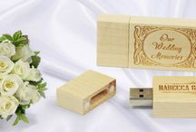 USB Ideas for Weddings / Collection of Wedding Themed USB Memory Sticks and Gift boxes for USB memory sticks - most available from USB2U.