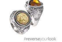 Mesi Reverse #reverseyourlook / Tradizione e innovazione, simbolismo e colore, in un gioiello che con un gesto permette di cambiare verso al proprio look.