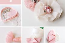 Fabric Flowers DIY and Inspirations