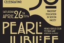 Spring Gala 2014 - Pearl Jubilee / by Waldorf School of the Peninsula