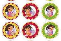 Vaida's Dora Birthday