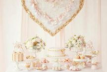 Gold & Blush Pink Party | THEME / by Forever Your Prints