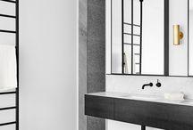 Black and White Interior Design / Black & White Interior Design Inspiration