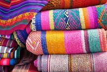 Fabrics of Mexico / There are no wrong colors in Mexico
