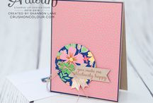 Stampin' Up! DSP - Affectionately Yours (Retired) / A board all about Affectionately Yours DSP by Stampin' Up!
