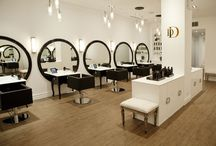 blow dry bars / Examples of this popular addition to hair salons