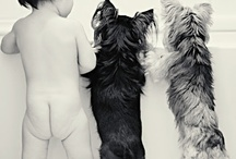 BABIE AND PUPPY PIC'S