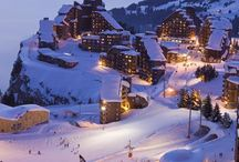 Winter landscapes - Avoriaz