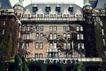 The Empress Hotel And Butchart Gardens and Other Tourist Attractions in Victoria Canada. / Decor, Gardens, Food and all Things Empress / by Louisa Black