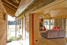 Coastal Eco Friendly houses  / Includes Shoal Bay and Waimarama Beach houses