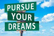 Pursue Your Dreams (Inspirational Women)