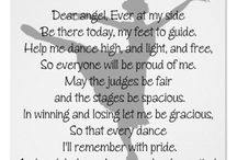 Dance quotes or prayers