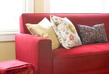 decorating ideas to add texture and color to a room / by Lisa Wittich