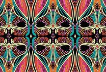 <3 patterns / by Sabine Araujo