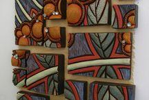 különleges falikép