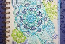 """Mandalas"" / Doodles :)"