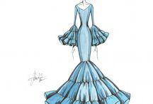 Patrones moda flamenca