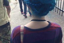perfect blue hair