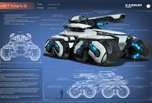 inspired Sci Fi vehicle