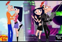 phineas and ferb - phineas x isabella