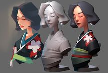 3D desing & characters