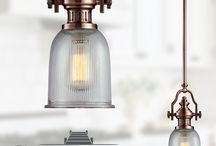 Pendant Lighting Above Kitchen Island / Brighten up your kitchen with beautiful pendants and chandelier lighting. Make a statement with lighting hung over a kitchen island or bar.