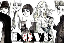 Fashion Illustrations / Fashion Illustrators and illustrations I love and adore
