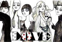Fashion Illustrations / Fashion Illustrators and illustrations I love and adore