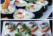Sushi for my lovely kids....