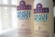 shampoos and conditioners / hair products