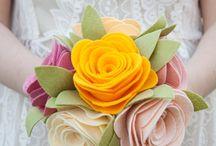 Flower Bouquet Felt
