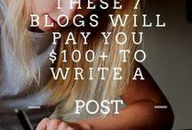Earn money by writing