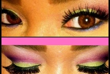 Makeup by Wenbe / I love eye makeup. It makes such a difference in achieving a look. Love love love makeup!
