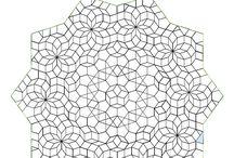 Mosaik quilts